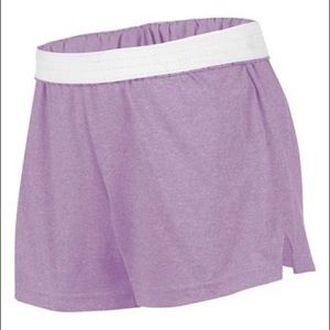 Purple athletic Soffe shorts